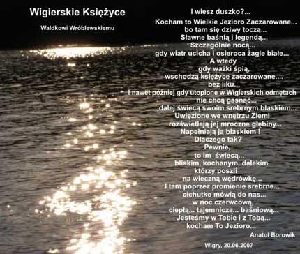...z brzegów milczenia...Waldusiowi W.