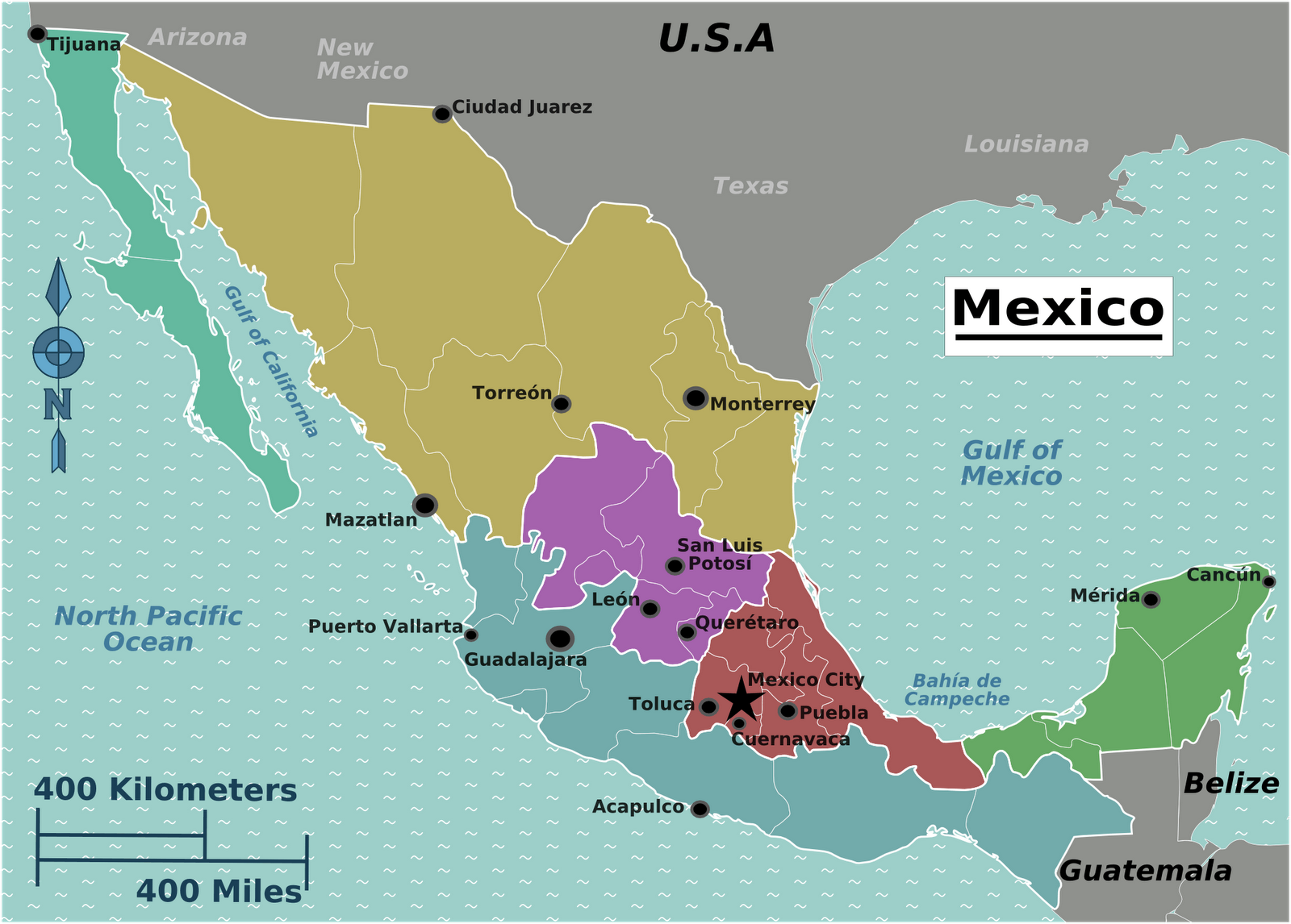 a break from the usual corn tortillas regions in the north are going to have dishes with more meat in them as these areas produce a great deal of beef