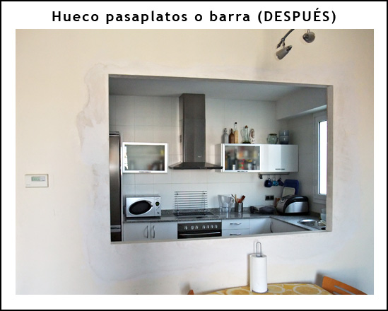 Blog de refohabit reformar piso en barcelona reformas - Unir cocina y salon ...