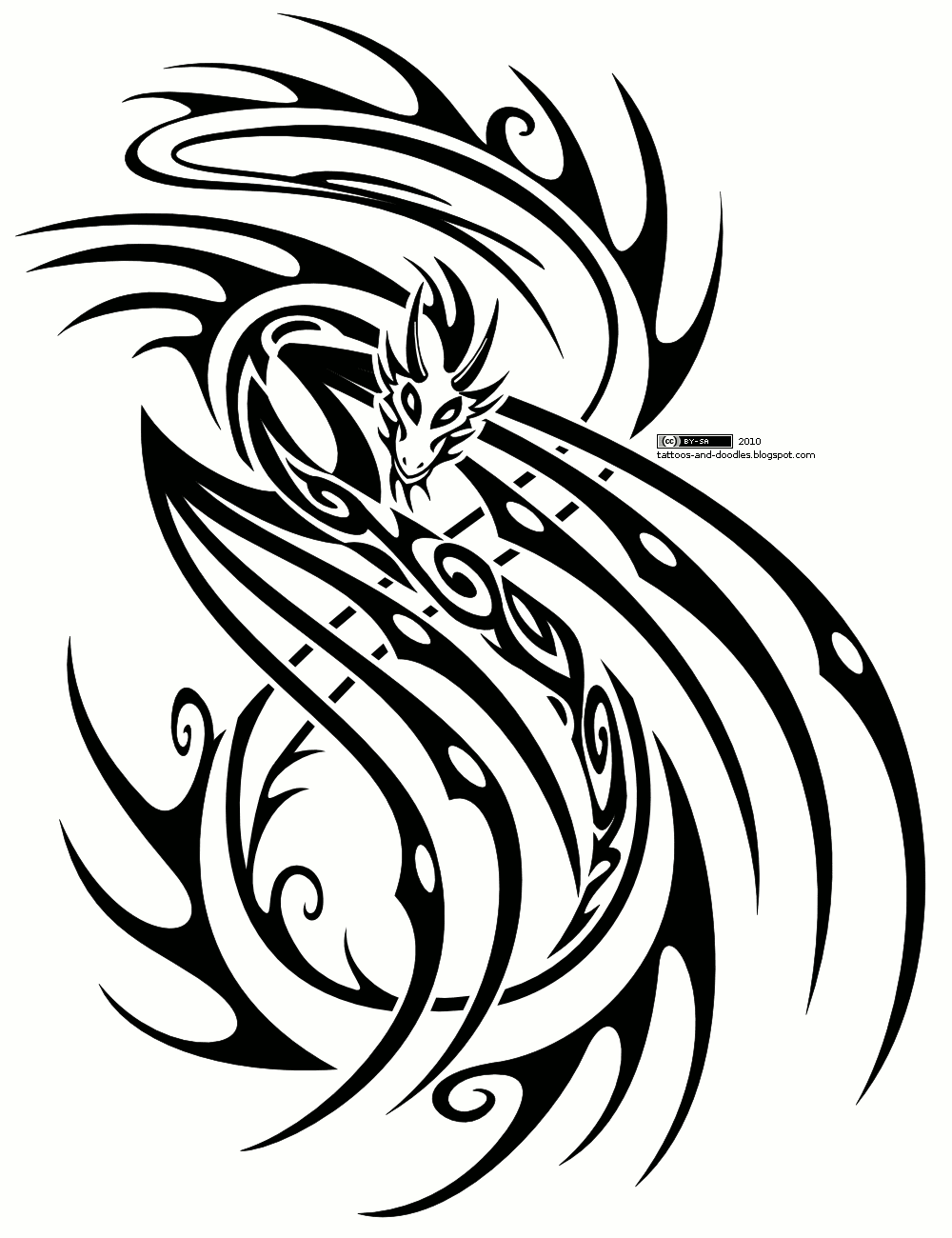 Free new tribal design simple helensblog for Free tattoo design