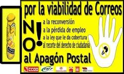 NO AL APAGÓN POSTAL!!