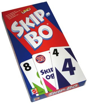 how to play ripple with skip bo cards