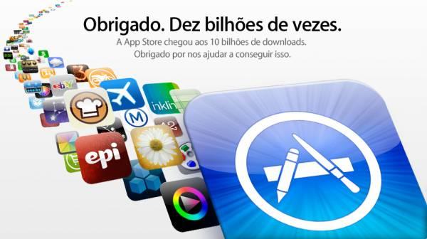 10 bilhões de downloads