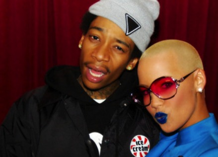 amber rose wiz khalifa married. -Wiz Khalifa has a song out