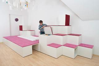 angolo morbido lettino gioco designliga progetto design bambini