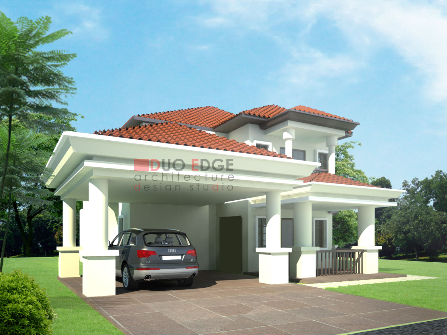 duo edge architecture design studio bungalow proposal at kajang