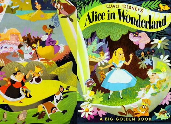 Vintage alice in wonderland disney
