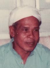 Anak pertama : Hj. Mahyuddin