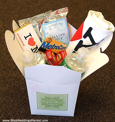Wedding Gift Basket Ideas For Out Of Town Guests : Events by Evonne, LLC: Out of Town Welcome Bags