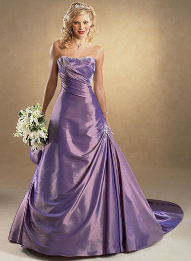 Colored Wedding Dress Style