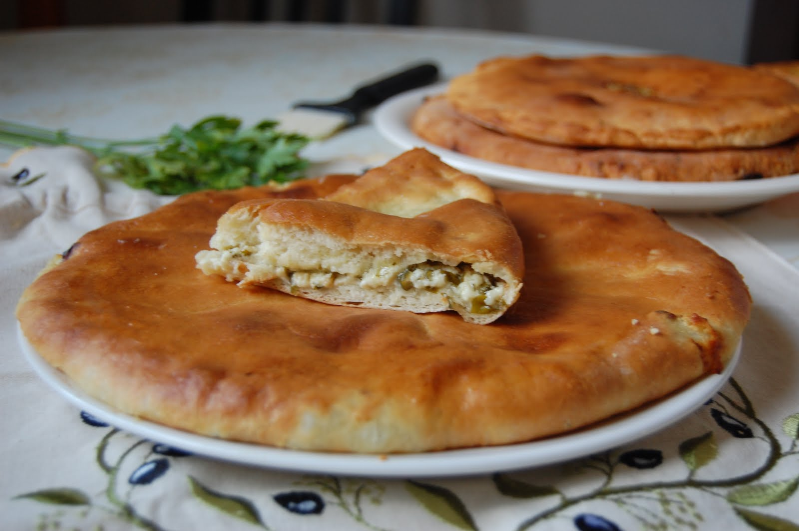 Осетинские пироги на сковороде рецепт