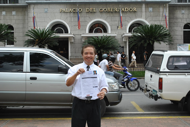 Enrique Files Candidacy for 2010