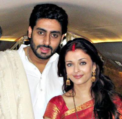 Aishwarya Rai and Abhishek Bachan