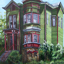 GREEN VICTORIAN HOUSE 20x20