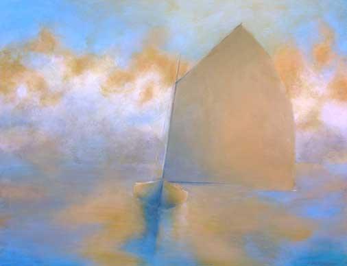 Catboat 9—Fog Lifting