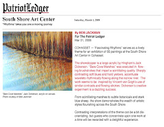 """Patriot Ledger"" declares Dickerson ""Marshes"" Painting a Showstopper"