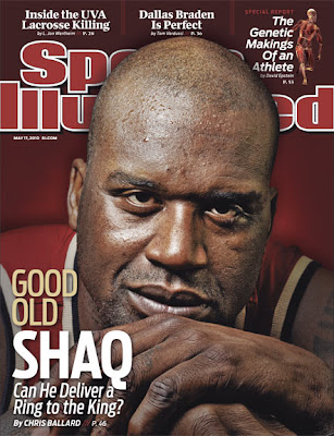 SI cover curse starring Shaq: Cleveland is doomed! Doomed, I tell you!