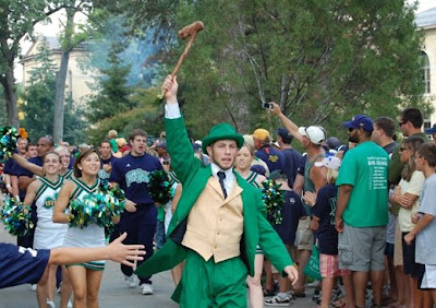 [BLEEP] YOU, MASCOT! The Notre Dame Leprechaun