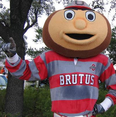 [BLEEP] YOU, MASCOT!: Brutus Buckeye