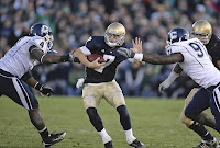 The Golddomedammerung: Irish QB fighting in a bar?