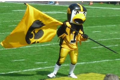 [BLEEP] YOU, MASCOT! Herky the Hawk