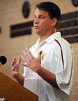 Tennessee turns down chance for 2011 showdown with Kiffin and USC. Huh?