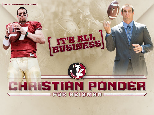 Taking the Stance: Grading Christian Ponder's campaign site