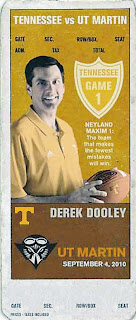Derek Dooley joins past Tennessee coaches on Vols' home game tickets