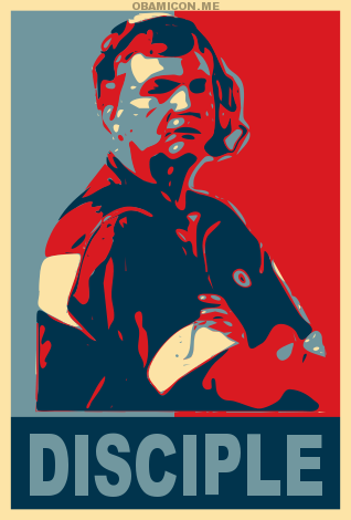 Great Moments in Bad Sports Art: Paul Johnson Obamaed