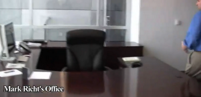 Mark Richt's Hot Seat comes with a snazzy new desk.
