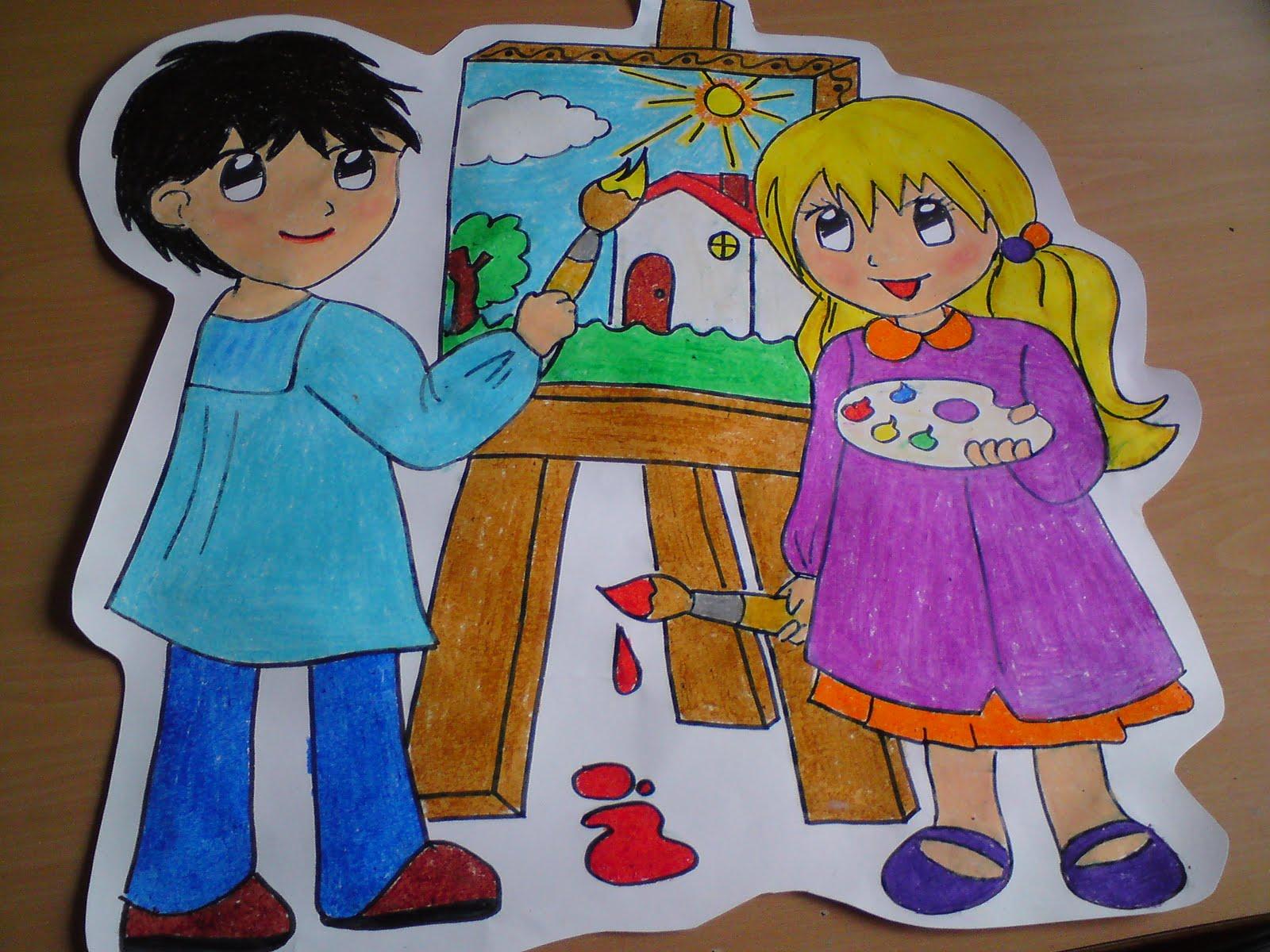 Arte en la escuela proyecto de los pintores actividades for Trabajo para pintores