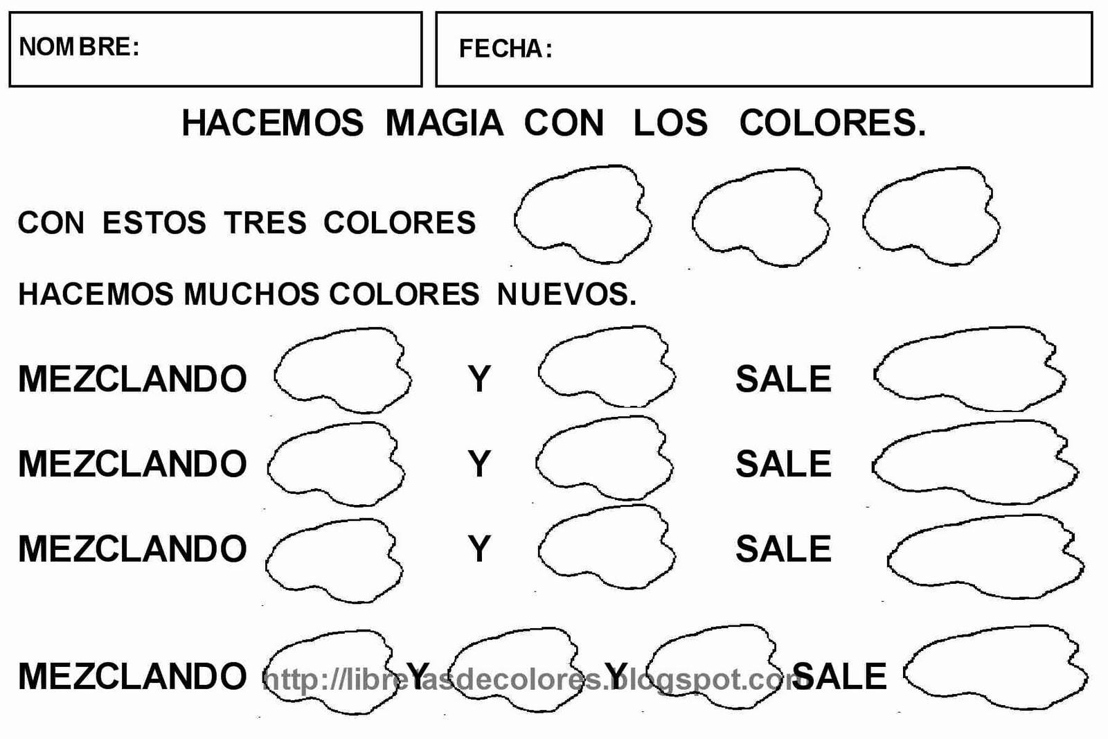 Libretas de colores: TALLER DE MAGIA: LOS COLORES MÁGICOS.