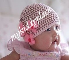 ADD NEW!!!! BABY CROCHET HAT 3FLOWER SIZE: 6-12M, 12-18, 18-24M PRICE: RM29 per pc