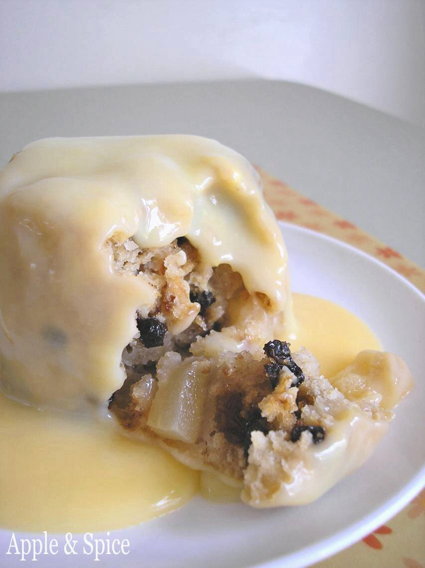 how did spotted dick get its name