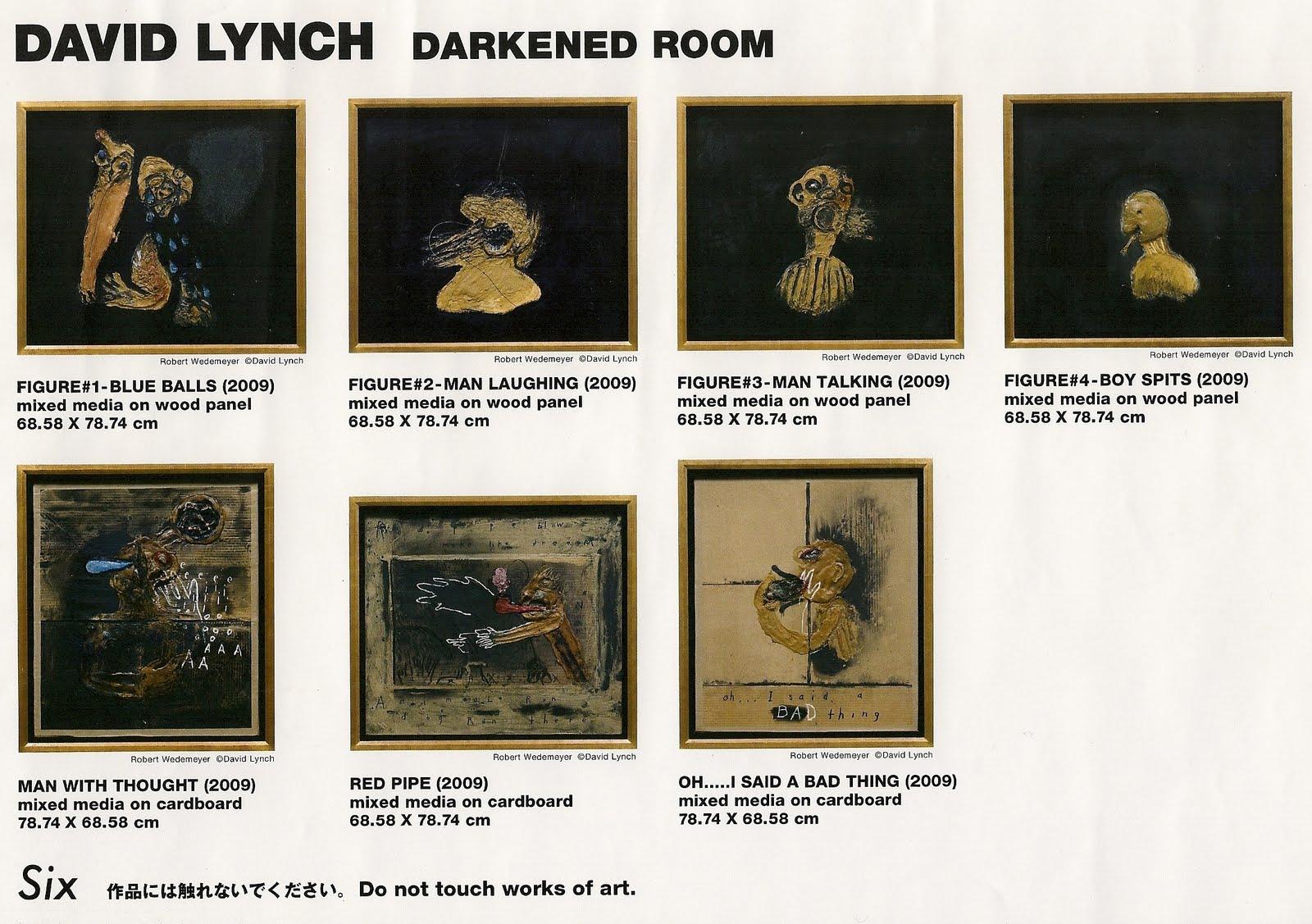 【展示会3】david Lynch Darkened Room Till 2017 100