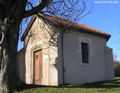 HAMMEVILLE (54) - La chapelle Sainte-Libaire