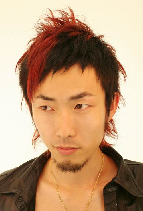 Cool Male Asian Long Hairstyles A casual medium wavy hairstyle can be