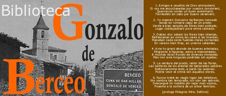 Biblioteca Gonzalo de Berceo en www.vallenajerilla.com