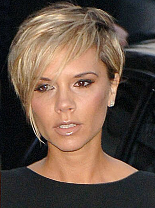 victoria beckham short hair back view. eckham short hair back.