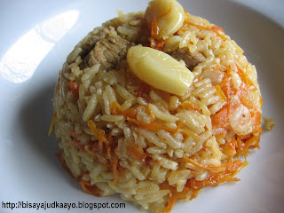 Inato lang Filipino Cuisine and More: Plov (Uzbek Rice Pilaf)
