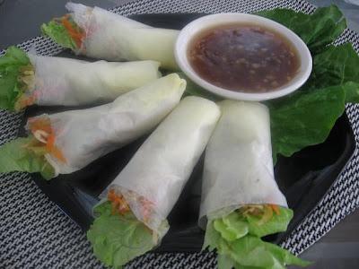 spring roll recipe to roll fresh spring rolls garlic chicken spring ...