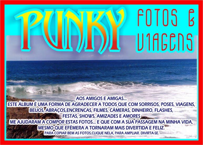 PUNKY: FOTOS & VIAGENS