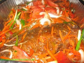 Filipino pinoy recipes escabeche with papaya for Fish escabeche recipe