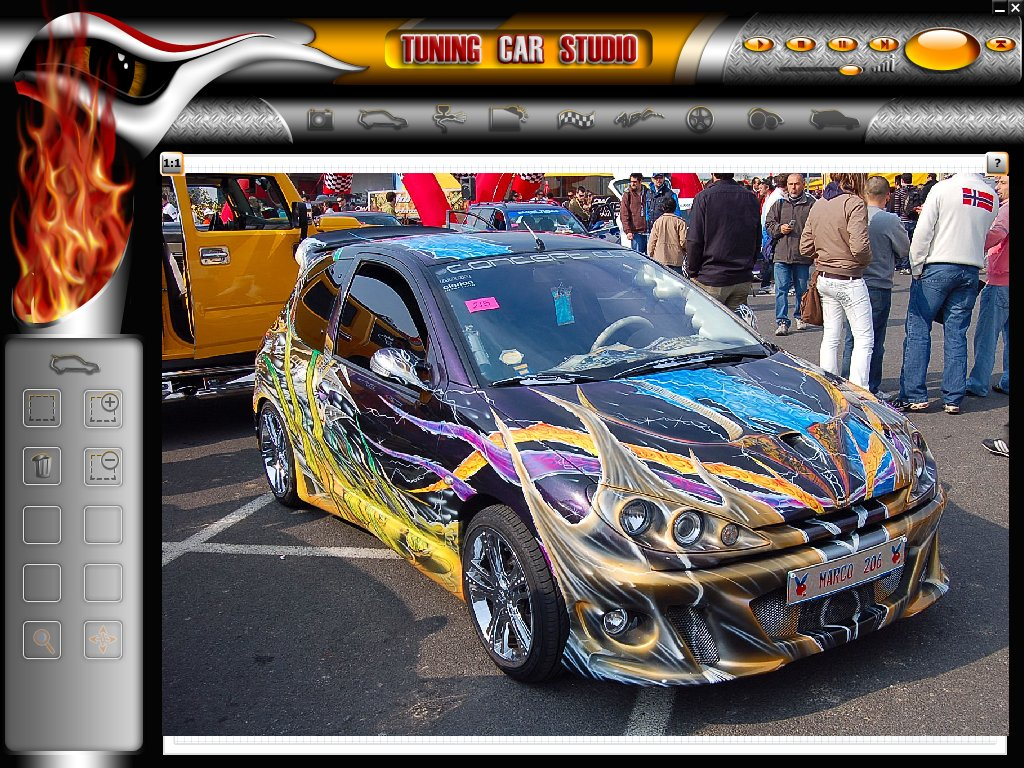 tuning car studio para dise o de autos tuning
