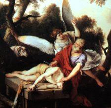Sacrificio de Isaac. Laurent de LaHire (1650)