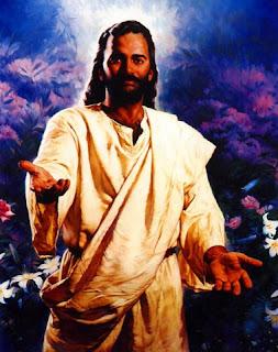 Dibujo de Cristo, que te llama