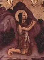 San Juan Bautista. Gentile da Fabriano. 1400
