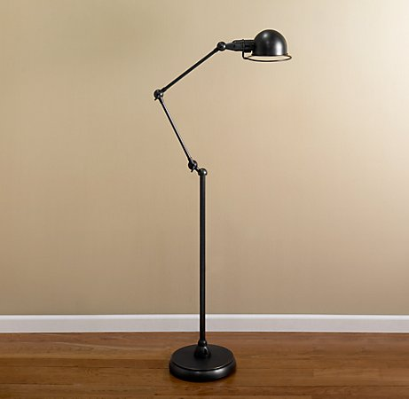 Love in Idleness: Pharmacy-Style Floor Lamps