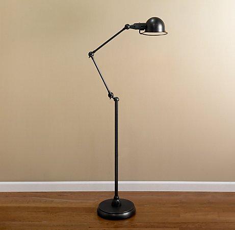 Love in Idleness: Pharmacy-Style Floor Lamps