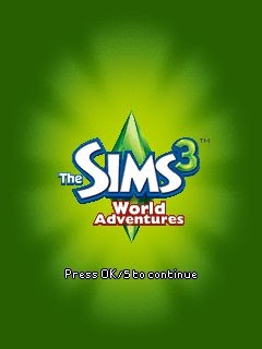 The Sims 3 World Adventures 240x320 mobile java Game NOKIA / LG
